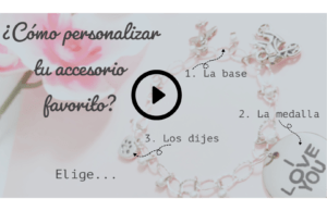 Video Como personalizar Accesorios Enlaces de angel